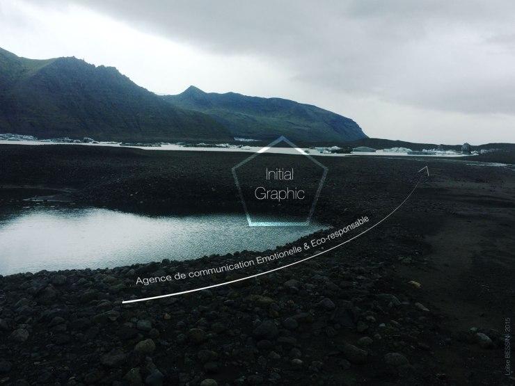 Glacier en Islande où l'on mesure chaque année la fonte de la calotte glacière.